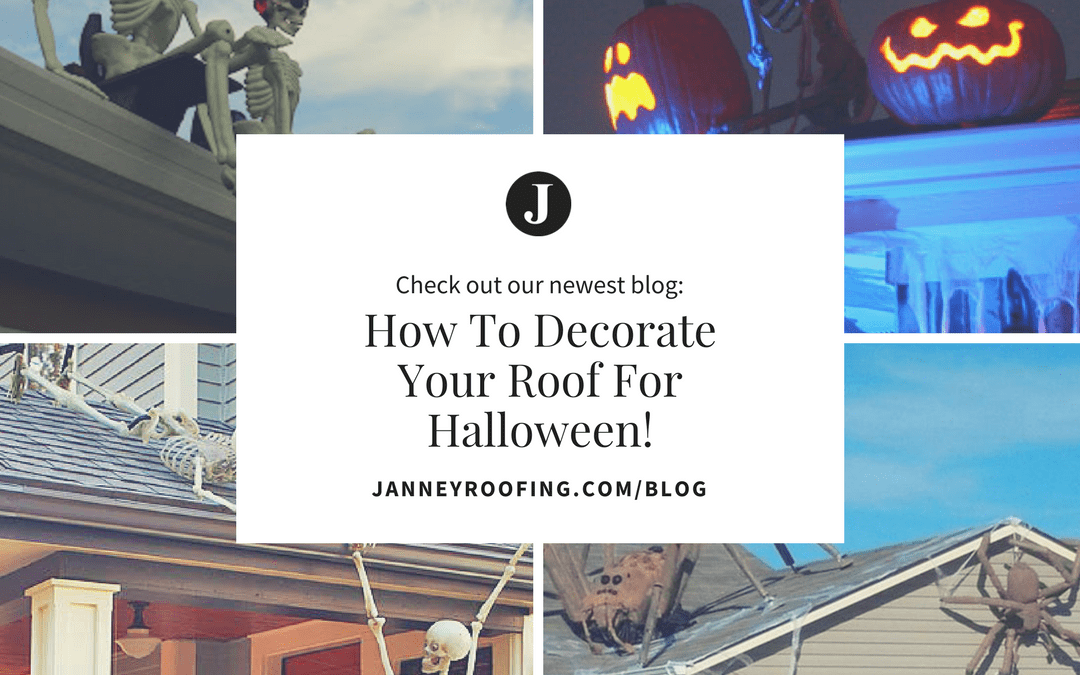 How To Decorate Your Roof for Halloween