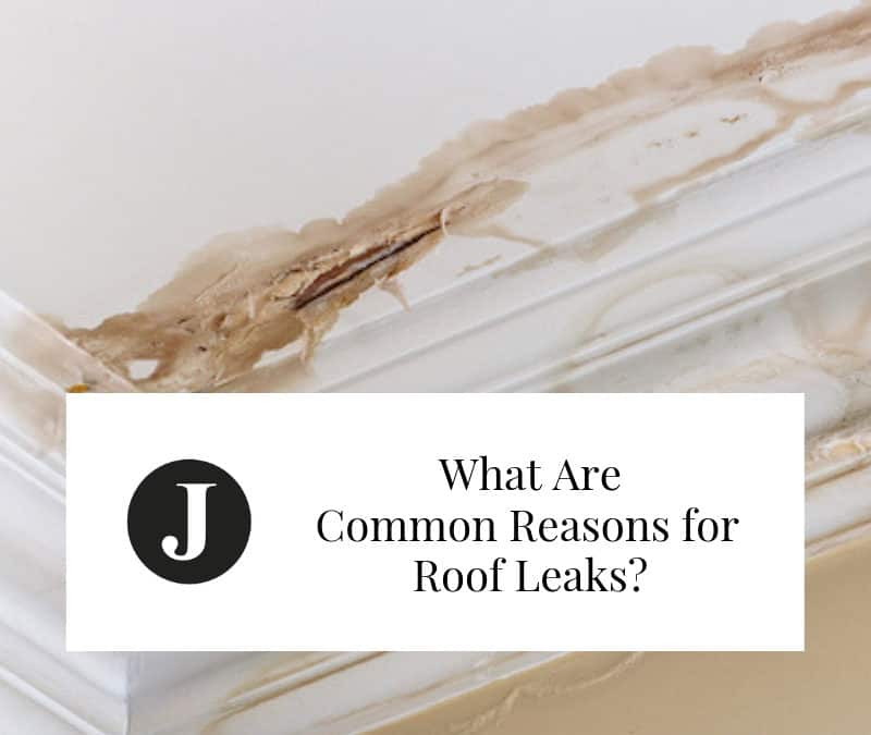 What Are Common Reasons for Roof Leaks?