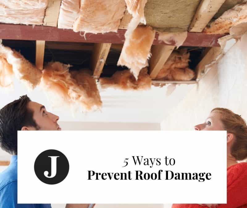 5 Ways to Prevent Roof Damage