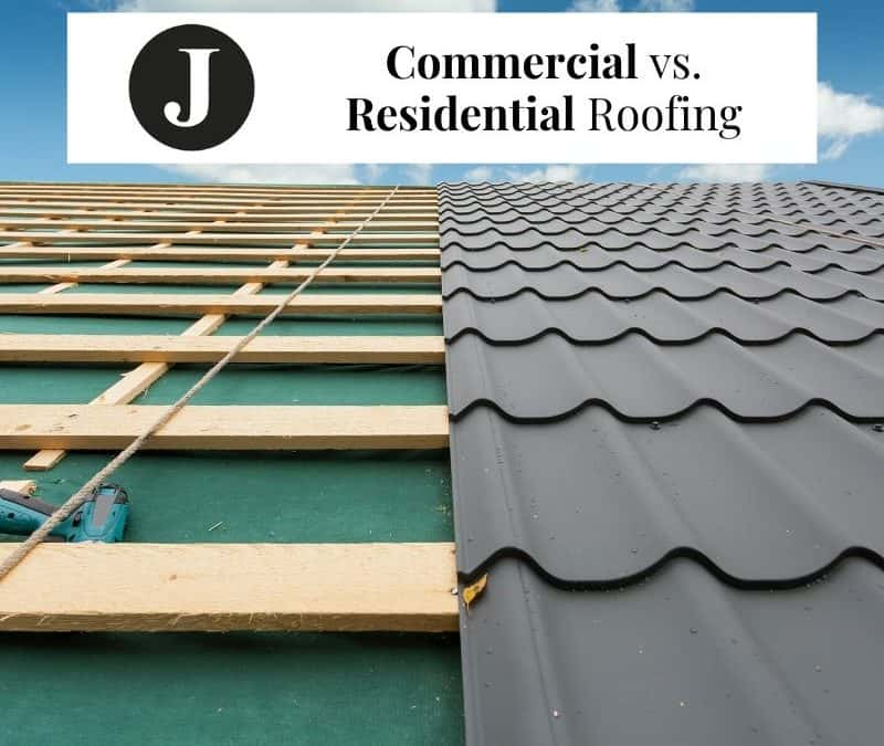 Commercial Roofing vs. Residential Roofing: What's the Difference?